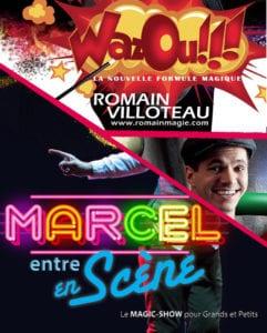 Spectacle enfant magie à biarritz le petit bijou cafe theatre