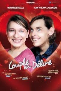Affiche du spectacle tout public à Biarritz : Couple en délire