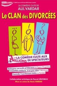 Affiche du spectacle tout public à Biarritz : Le Clan des divorcées