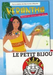 Affiche du spectacle pour enfants Vérantha, au café théâtre Le Petit Bijou à Biarritz