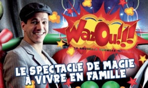 Affiche Wazoau café théâtre Biarritz Le Petit Bijouu!!!!