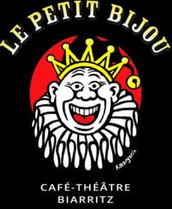 Logo réalisé par Margerin du café théâtre Le Petit Bijou à Biarritz