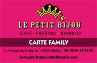 Réduction famille théâtre le Petit Bijou à Biarritz