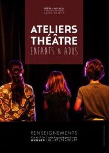 Ecole atelier de théâtre Biarritz enfants ados