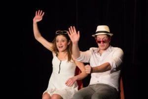 Saluts du spectacle d'humour à Biarritz café théâtre : Le Petit Bijou