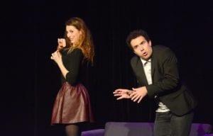 offre une fleur Spectacle d'humour à Biarritz café théâtre : Le Petit Bijou