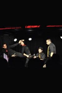 Les jeudis de l'Impro cafe theatre petit bijou spectacle d'humour figure de style à quatre