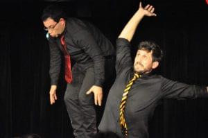 Les jeudis de l'Impro cafe theatre petit bijou spectacle d'humour hommes agités