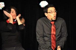 Les jeudis de l'Impro cafe theatre petit bijou spectacle d'humour homme femme surpris