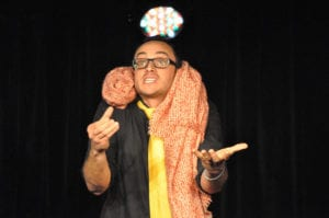 Les jeudis de l'Impro cafe theatre petit bijou spectacle d'humour homme énervé