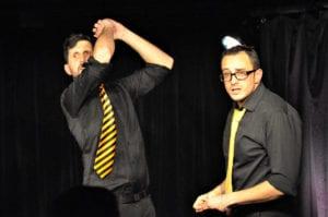 Les jeudis de l'Impro cafe theatre petit bijou spectacle d'humour hommes fachés