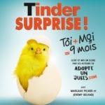 affiche du psectacle tinder, comédie à biarritz