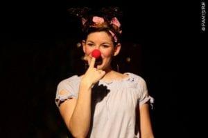 Alouette touche son nez rouge spectacle pour enfant à biarritz