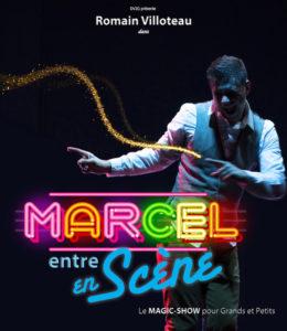 MArcel entre en scène spectacle enfant Biarritz