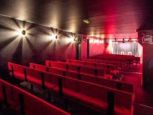Salle de spectacle d'humour du caffé théâtre